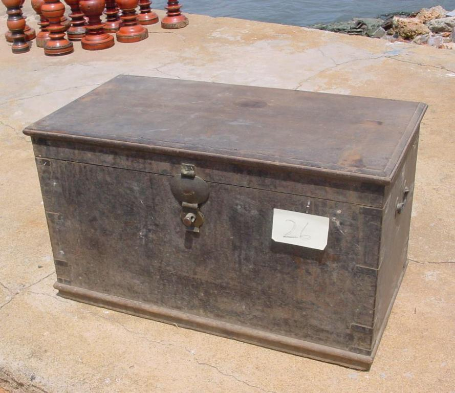antique colonial chest