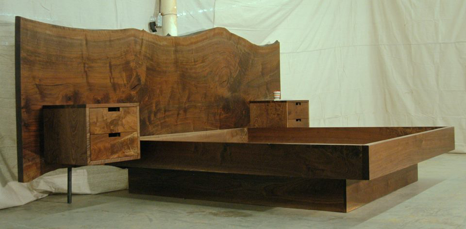 Walnut Bed King
